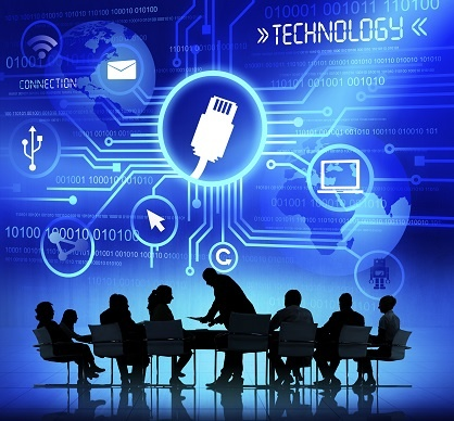 Business People Working and Technology Concepts